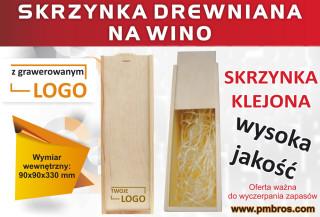 promocja skrzynka na wino fb
